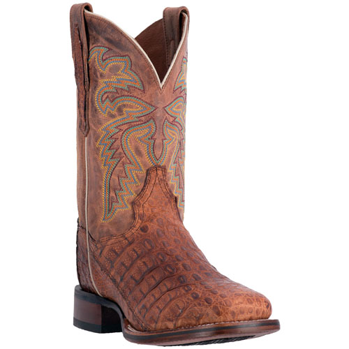 Dan Post Denver DP3854 Oiled Caiman Boots Cognac Image