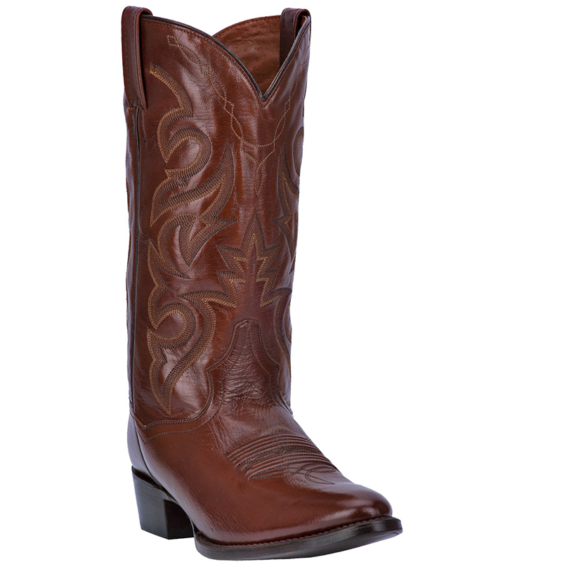 Dan Post DP2111R Milwaukee Leather Boots Antique Brown Image
