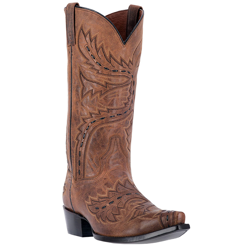 Dan Post DP2233 Sidewinder Leather Boots Brown Image
