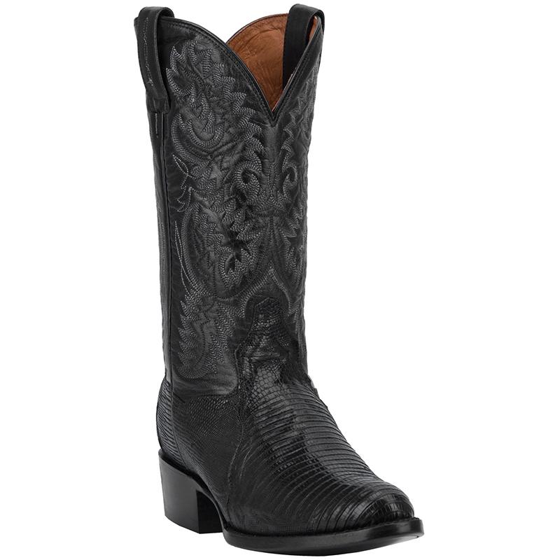 Dan Post DP2350R Raleigh Lizard Boots Black Image