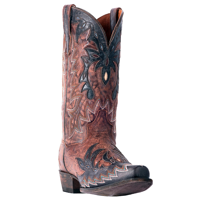 Dan Post DP2566 Tex Leather Boots Brown Image