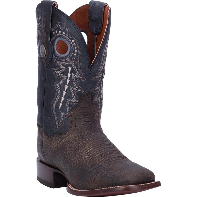 Dan Post DP3974 Badlands Leather Boots Distressed Black Image