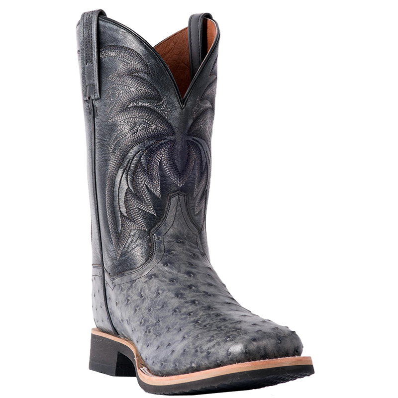 Dan Post DP3984 Philsgood Full Quill Ostrich Boots Grey Image