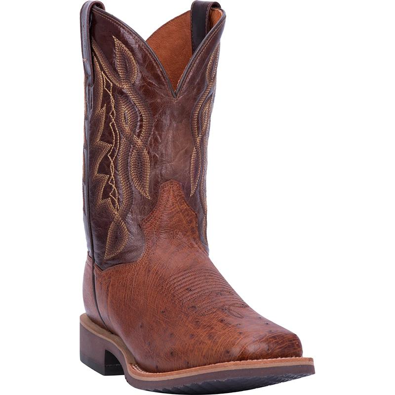 Dan Post DP3986 Philsgood 2 Ostrich Boots Cognac Image