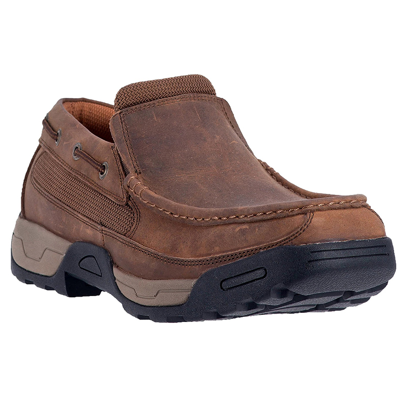 Dan Post DP67681 Armstrong Steel Toe Leather Shoes Tan Image