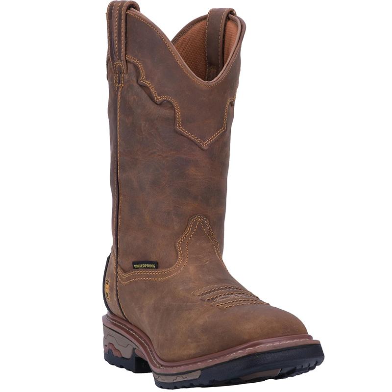 Dan Post DP69482 Blayde Waterproof Steel Toe Leather Boots Saddle Image
