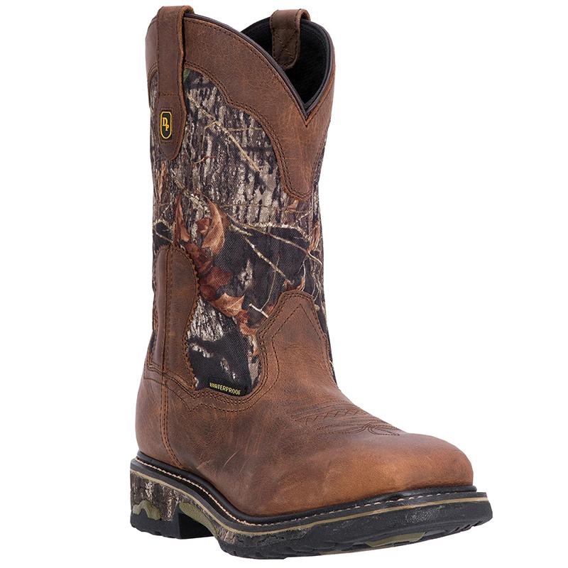Dan Post DP69488 Hunter Steel Toe Leather Boots Saddle Image