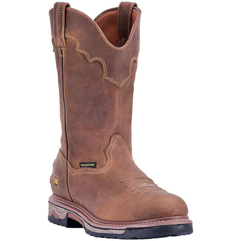 Dan Post DP69512 Journeyman Composite Toe Leather Boots Saddle Image