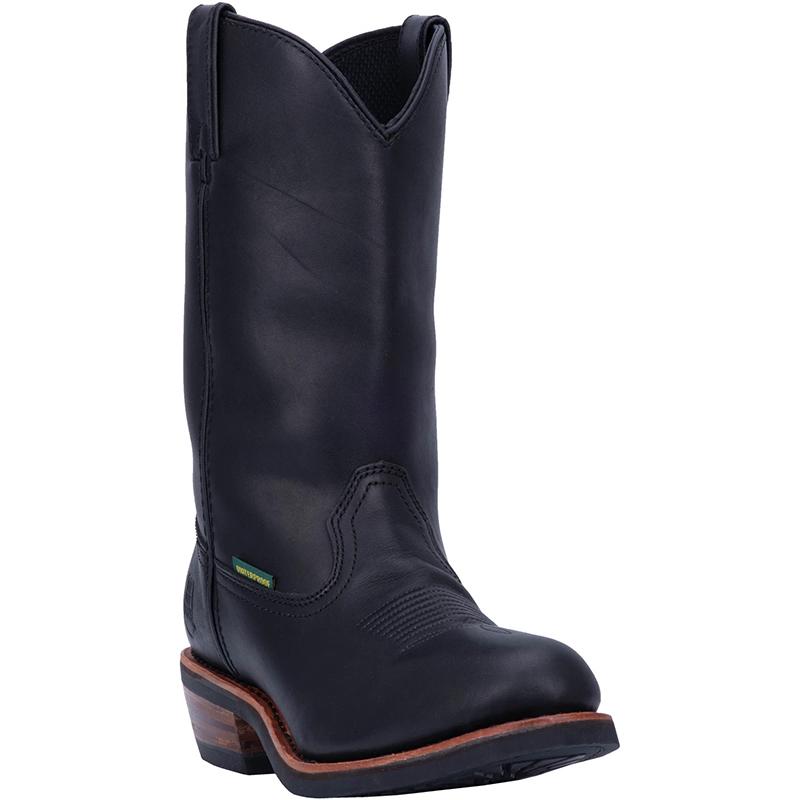 Dan Post DP69680 Albuquerque Waterproof Steel Toe Boots Black Image