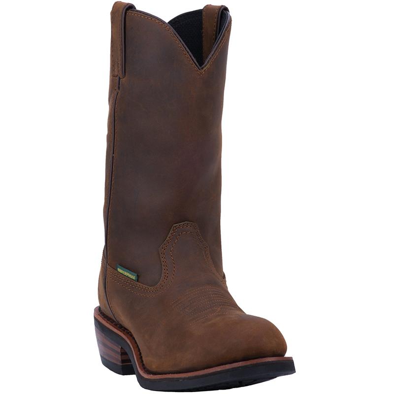 Dan Post DP69681 Albuquerque Waterproof Steel Toe Boots Mid Brown Image
