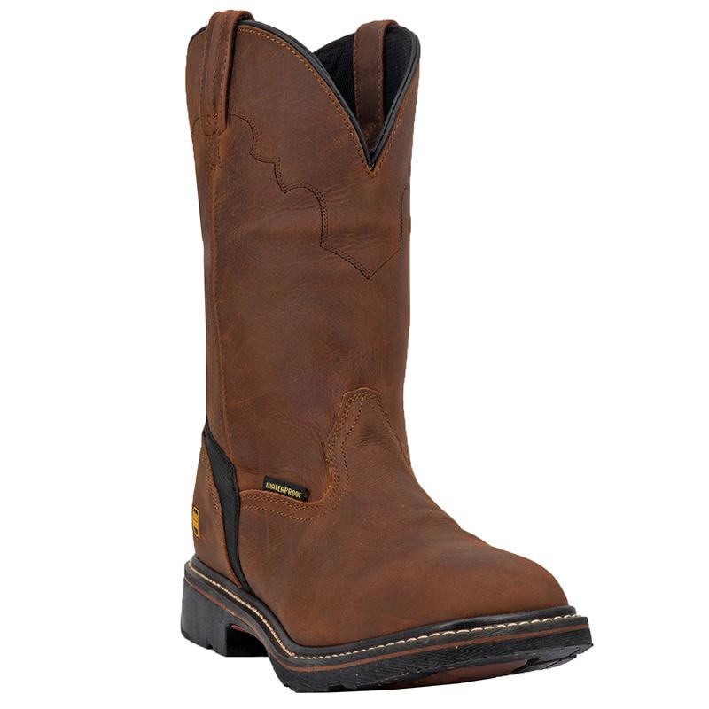 Dan Post DP69978 Lubbock Steel Toe Leather Boots Copper Image