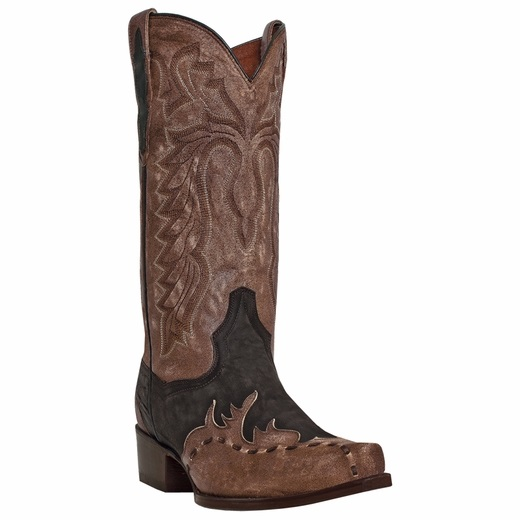 Dan Post Lucky Break DP2249 Western Boots Chocolate Image