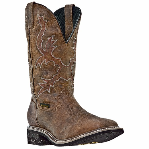 Dan Post Nogales DP69791 Waterproof Boots Saddle Tan Image