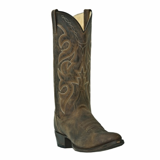 Dan Post Reneade DP2159 Western Boots Bay Apache Image