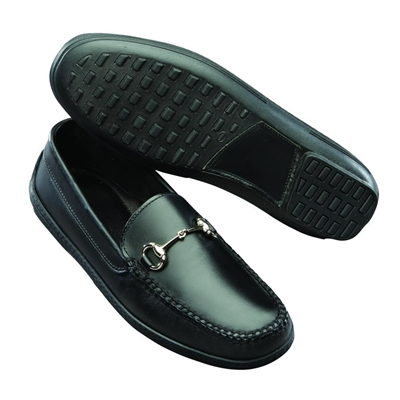 T.B. Phelps Bit Driving Shoes Black Image