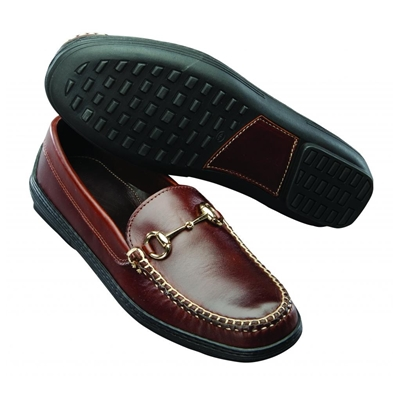T.B. Phelps Bit Driving Shoes Brown Image
