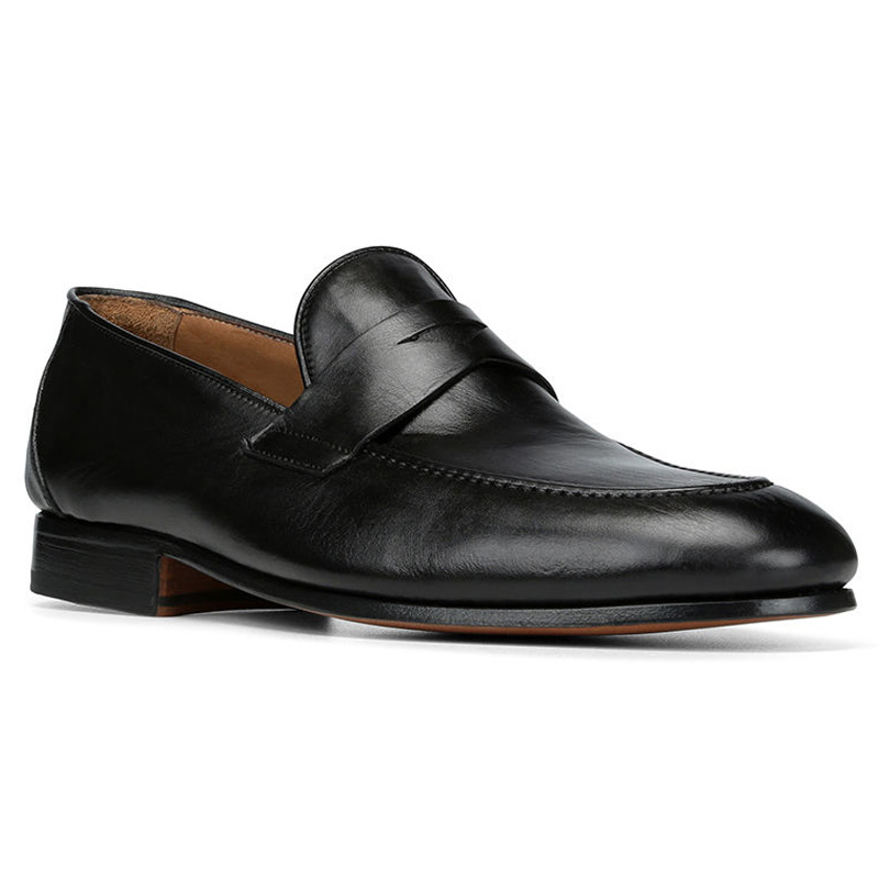 Donald Pliner Alejo Calf Loafer Shoe Black Image