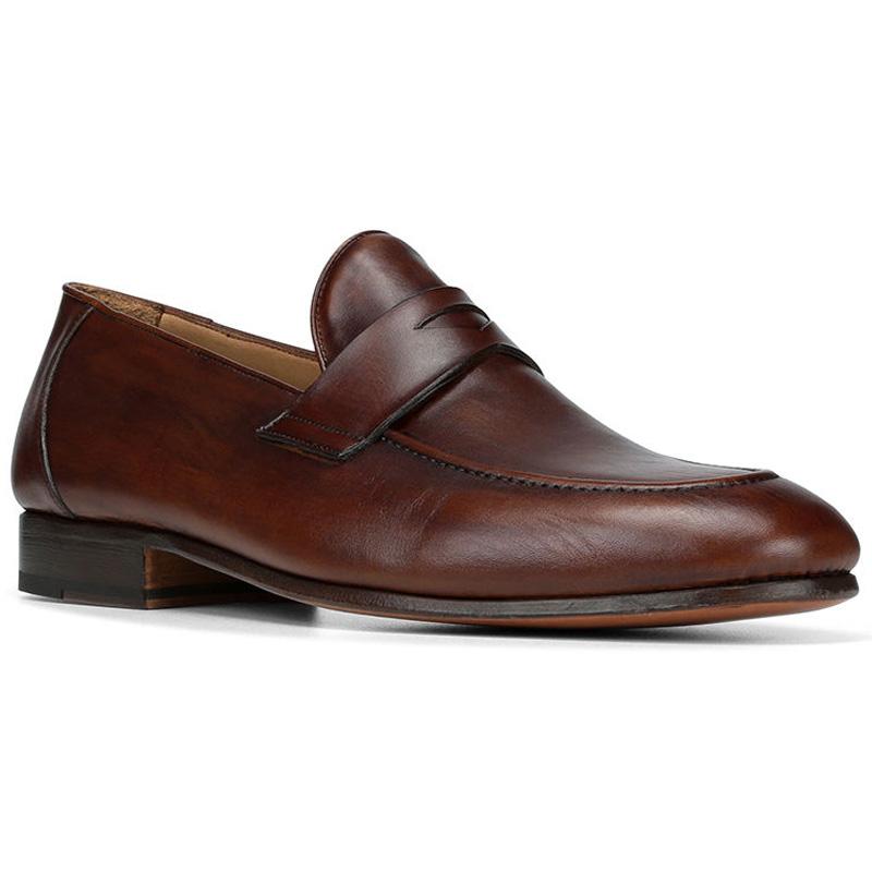 Donald Pliner Alejo Calf Loafer Shoe Brown Image