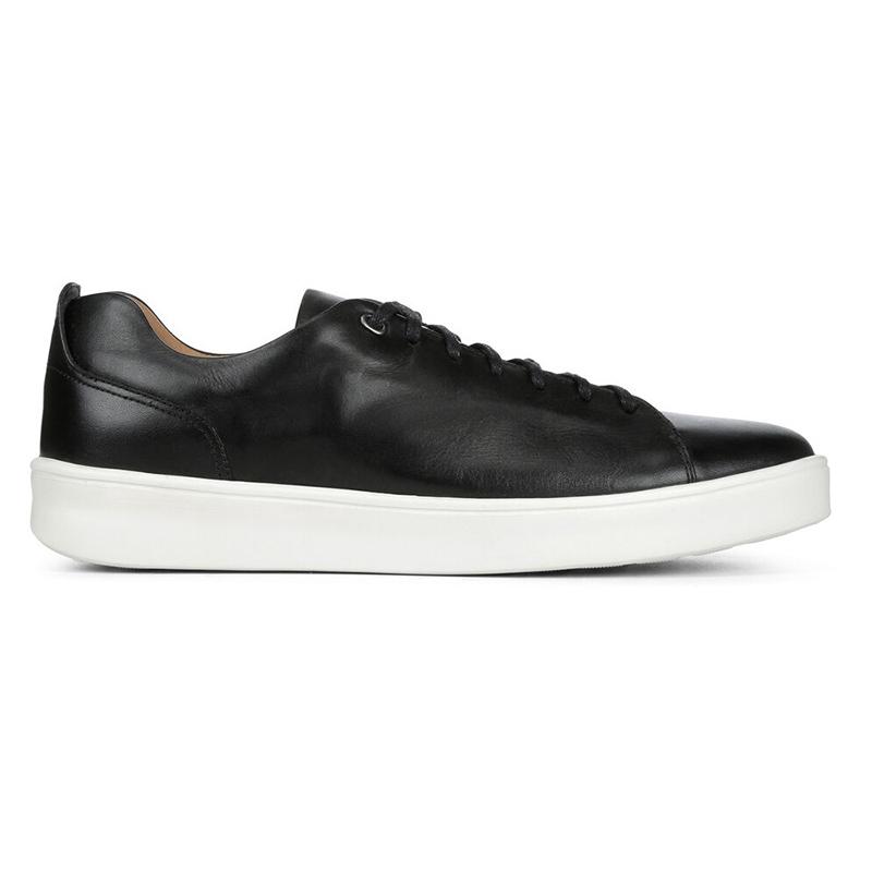 Donald Pliner Andee Calfskin Sneaker Black Image