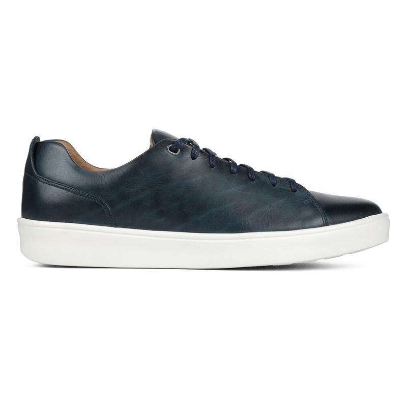 Donald Pliner Andee Calfskin Sneaker Navy Image