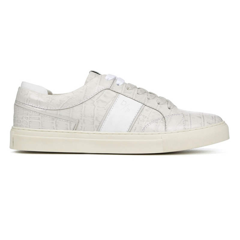 Donald Pliner Andrew Crocco Sneaker Off White Image
