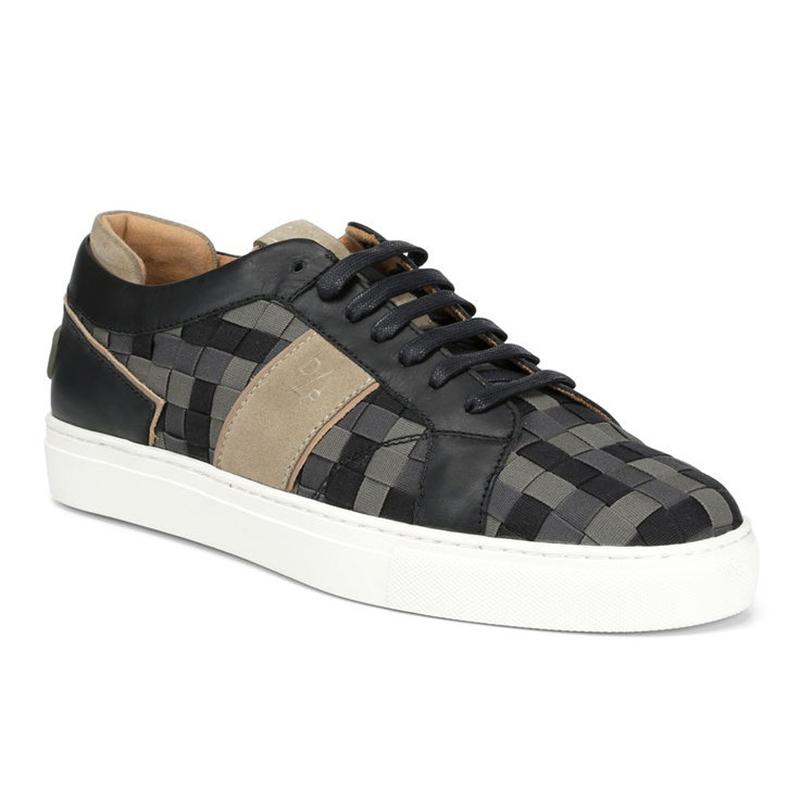 Donald Pliner Andrewsp Woven Sneaker Khaki Image