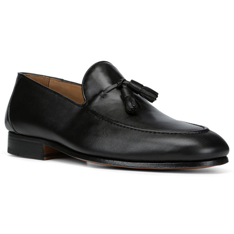 Donald Pliner Ario Calf Loafer Shoe Black Image