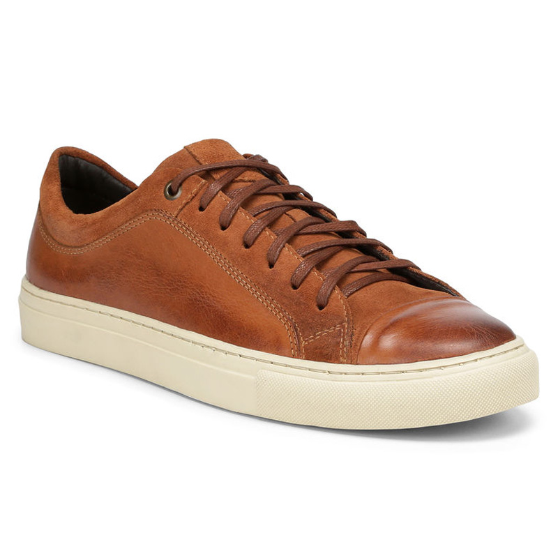 Donald Pliner Berkeley Calf Sneaker Shoe Whisky Image