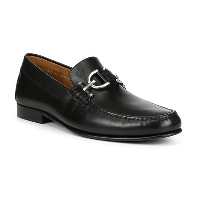 Donald Pliner Colin Lux Calf Leather Loafer Black Image
