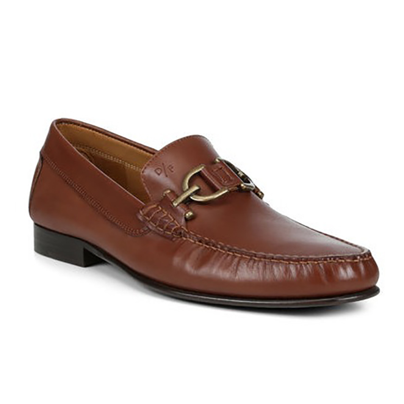 Donald Pliner Colin Lux Calf Leather Loafer Cognac Image
