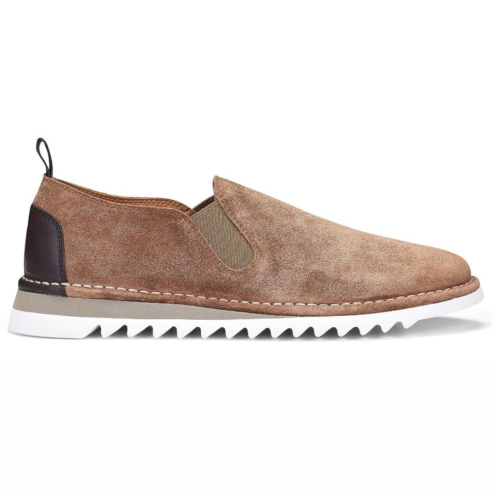 Donald Pliner Curtis Suede Shoes Brown Image