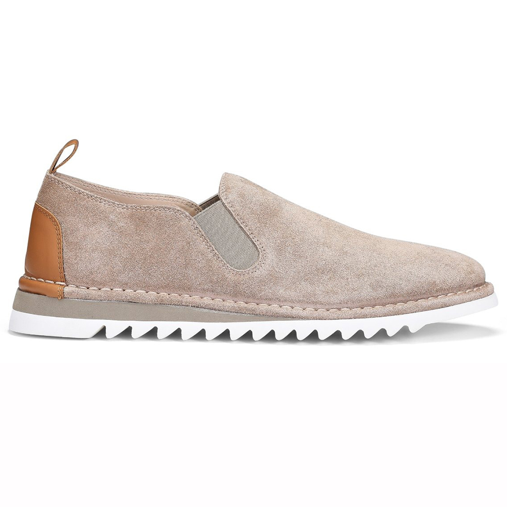 Donald Pliner Curtis Suede Shoes Natural Image