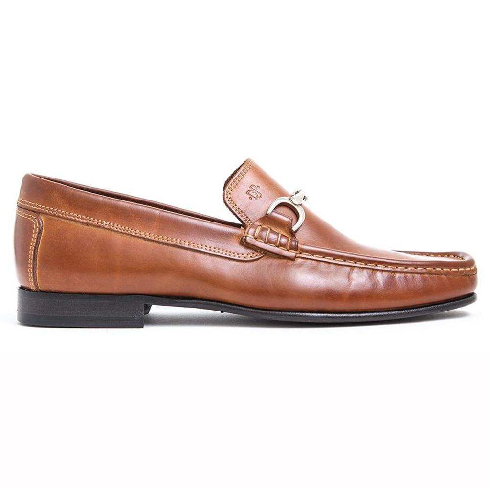 Donald Pliner Darrin Calfskin Loafers Saddle Image