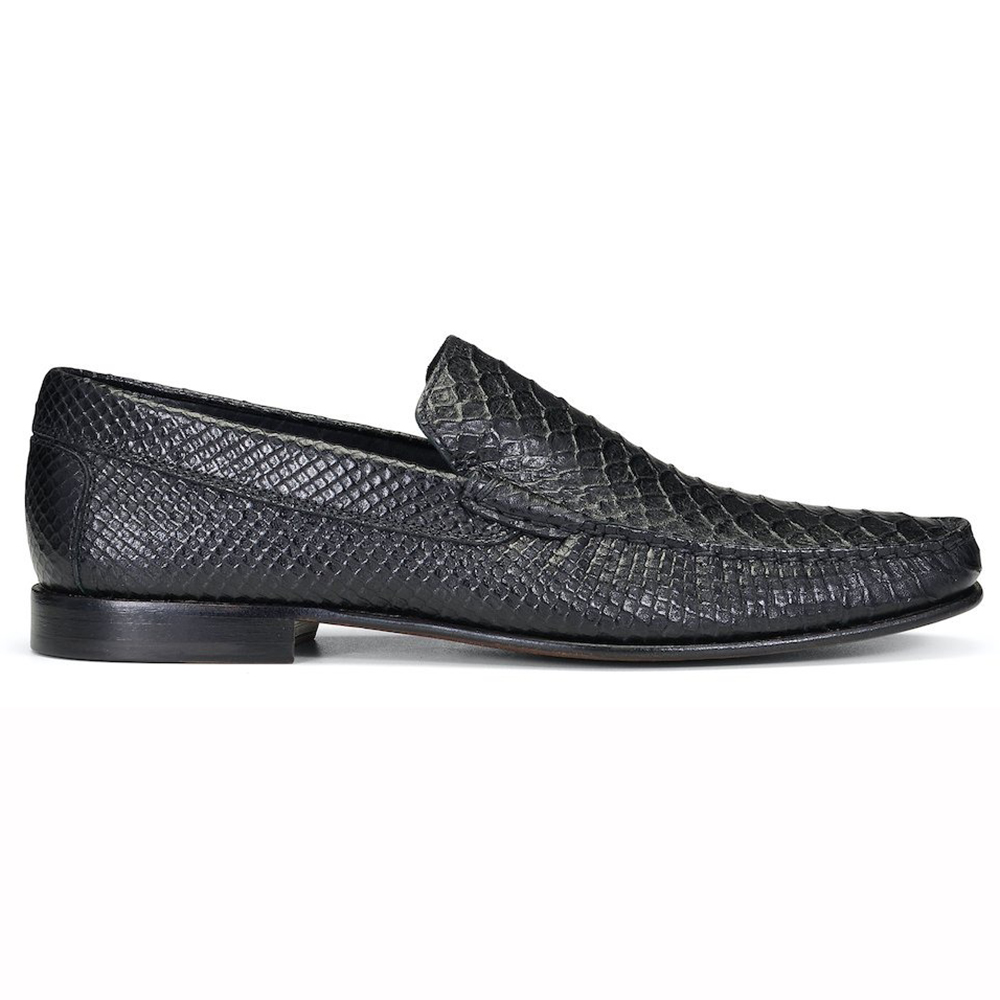 Donald Pliner Dominick Multi Snake Loafers Black Image