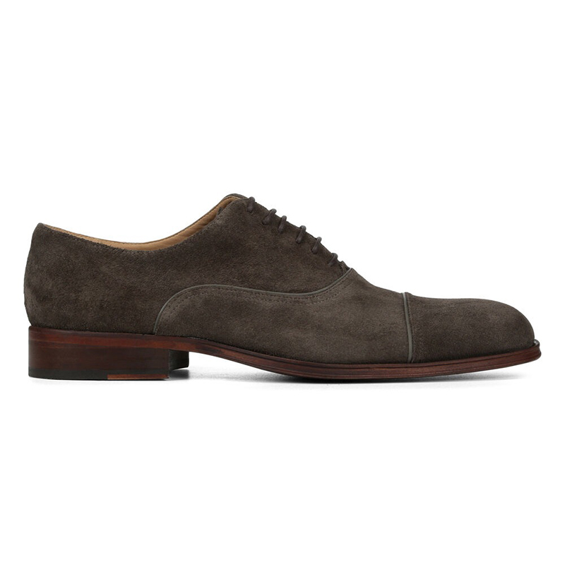Donald Pliner Gorti Suede Oxford Charcoal Image