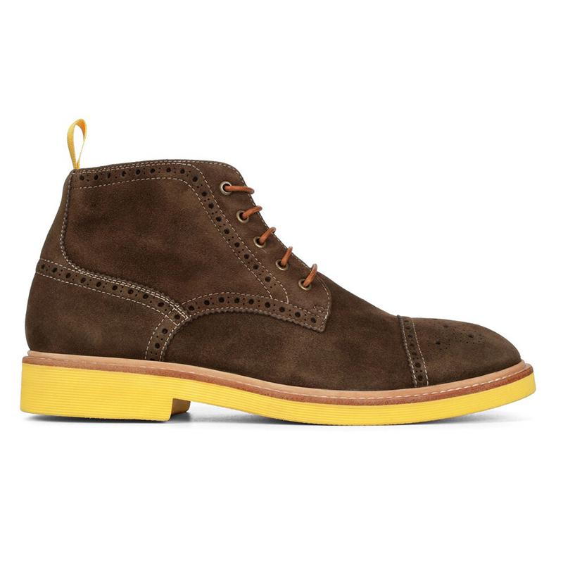 Donald Pliner Grant Suede Boots Expresso Image