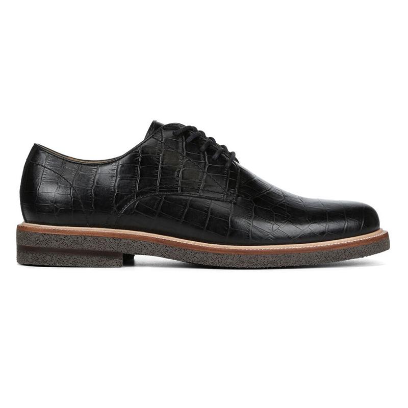 Donald Pliner Lance 2 Crocco Leather Oxford Black Image