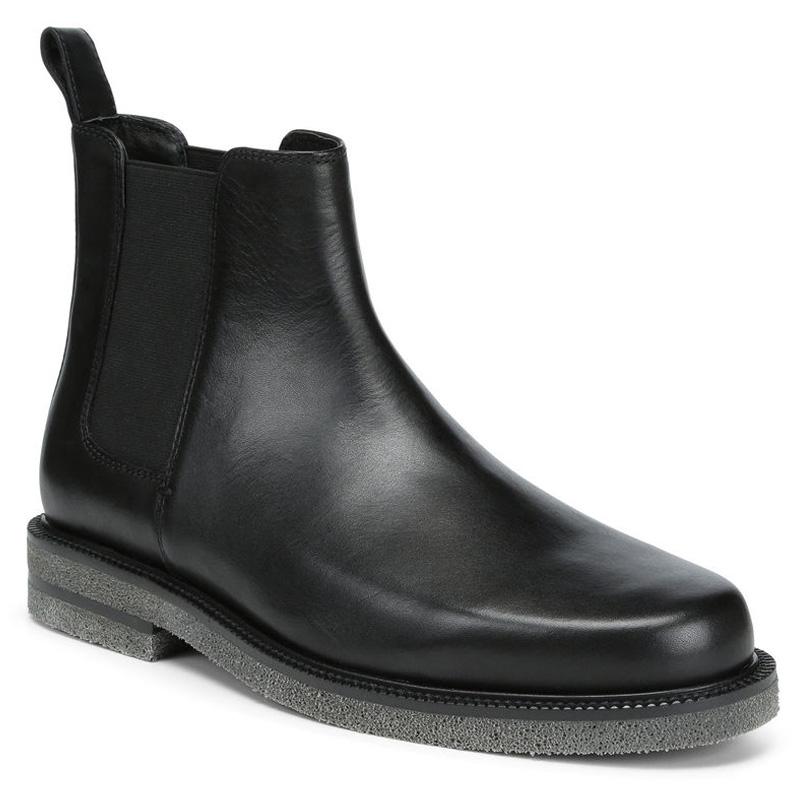 Donald Pliner Len Calf Boot Black Image