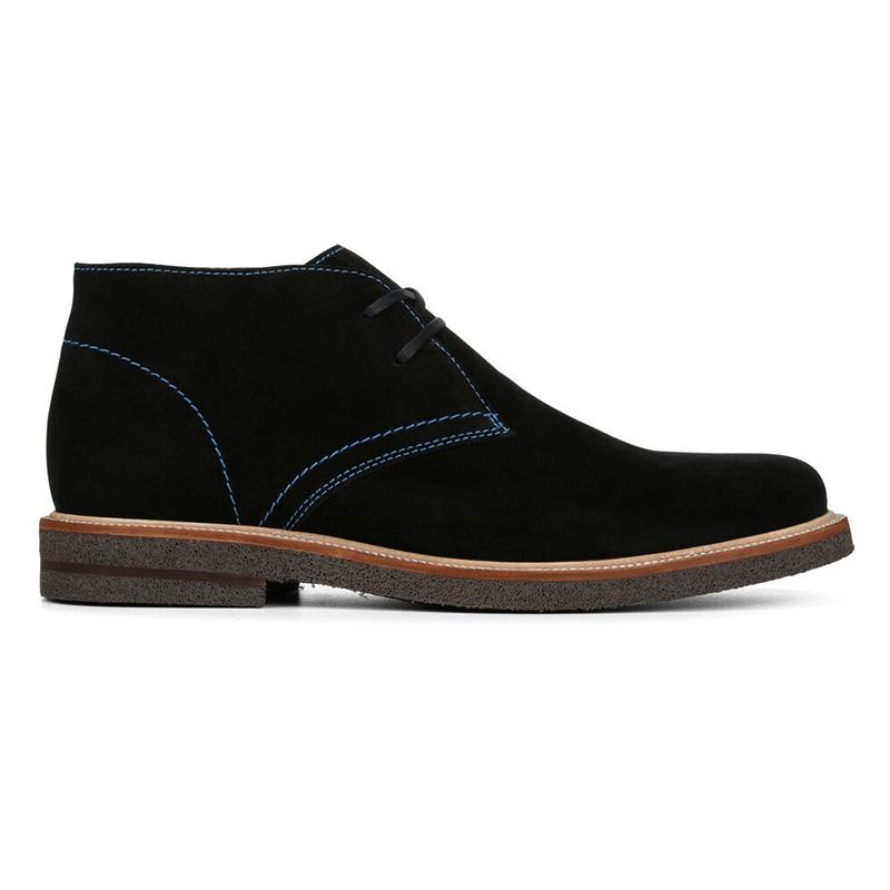 Donald Pliner Leon Suede Boots Black Image