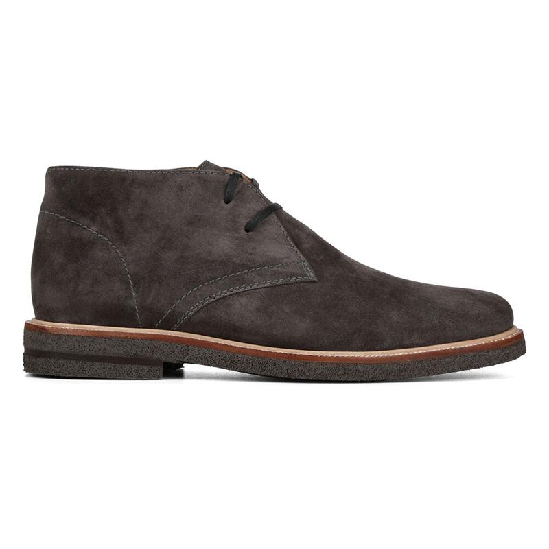 Donald Pliner Leon Suede Boots Charcoal Image
