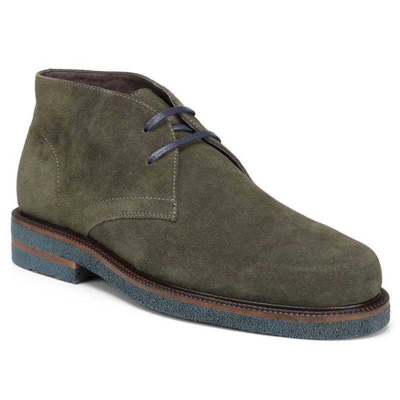 Donald Pliner Levi Suede Calf Oxford Shoe Olive Image