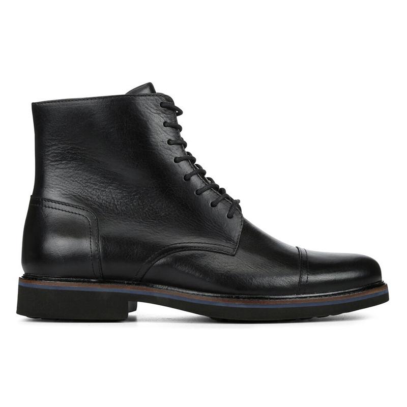 Donald Pliner Mave Calfskin Boots Black Image