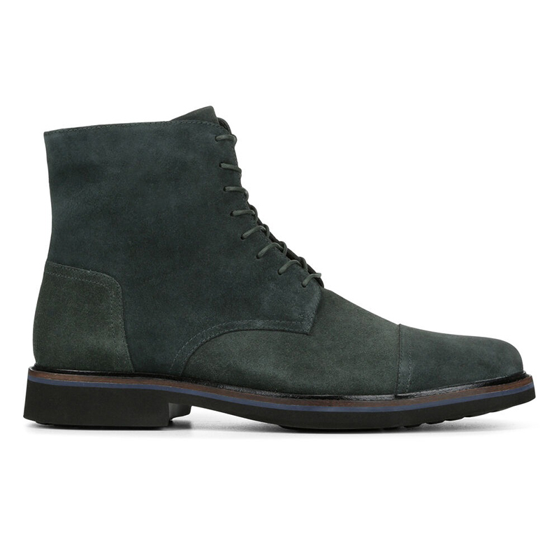Donald Pliner Mave Suede Boots Forest Image