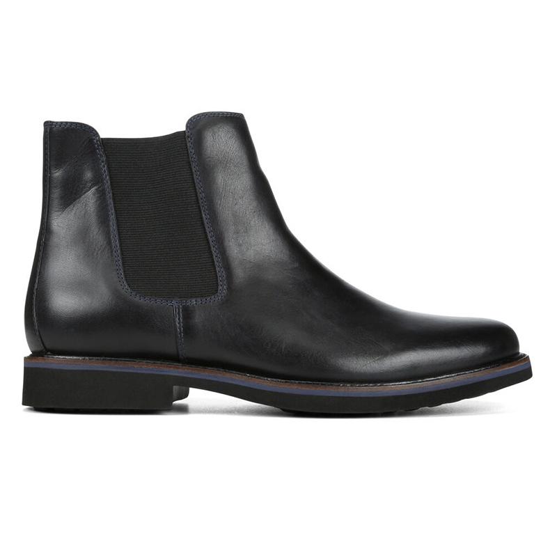 Donald Pliner Mort Calfskin Boots Black Image