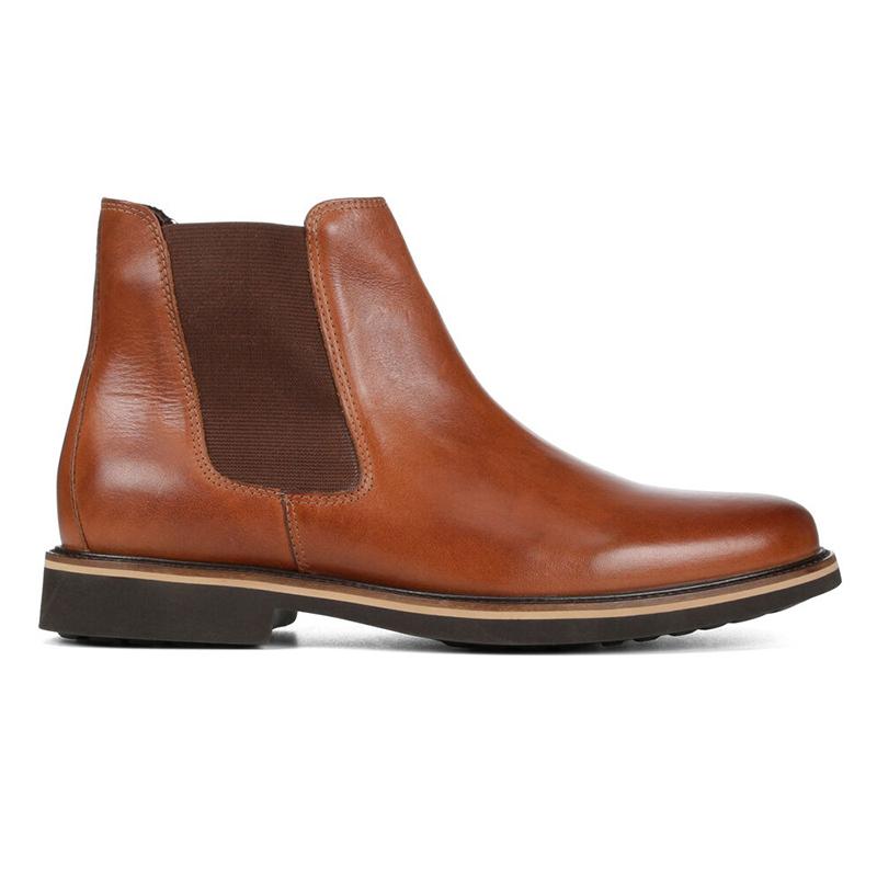 Donald Pliner Mort Calfskin Boots Saddle Image