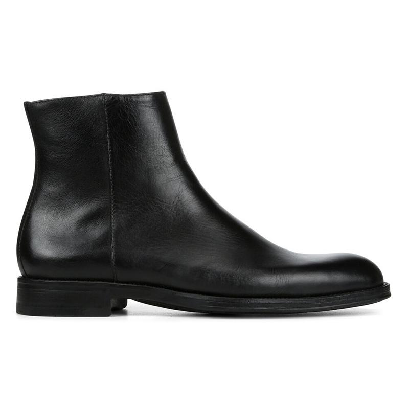 Donald Pliner Palle Calfskin Boots Black Image
