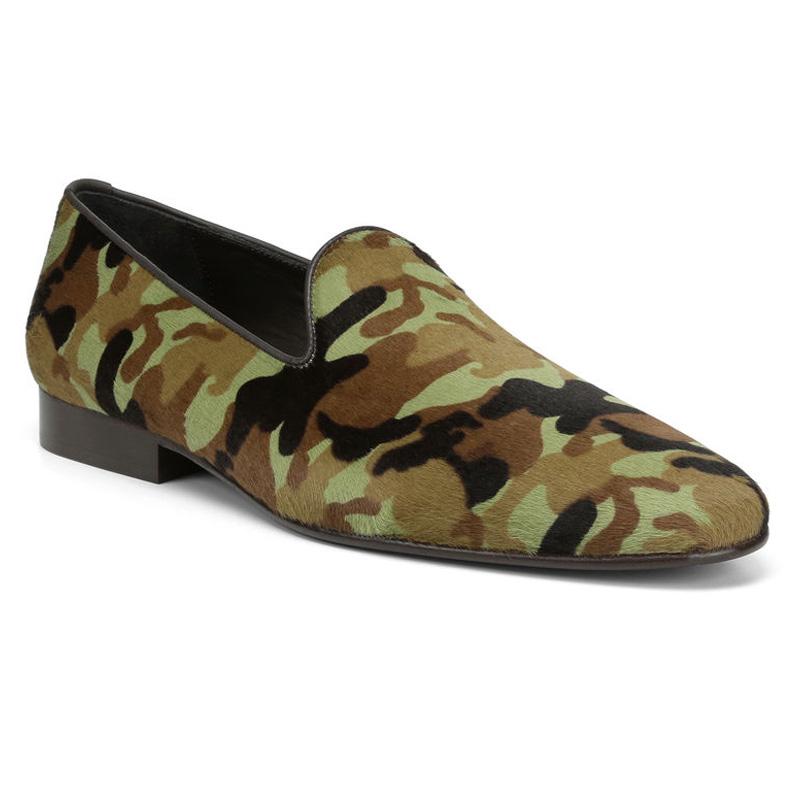 Donald Pliner Premo Haircalf Loafer Shoe Camo Image