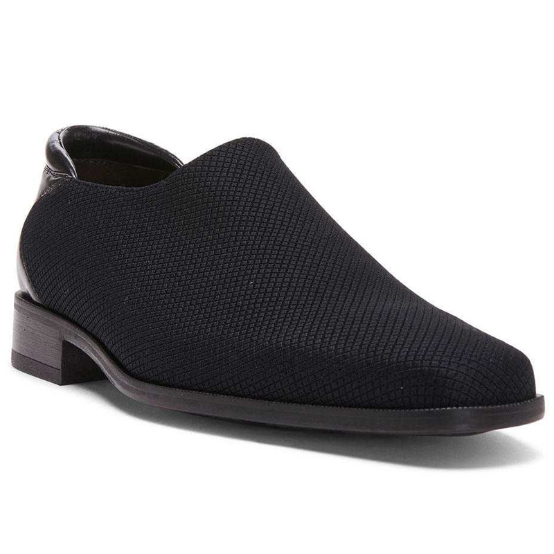 Donald Pliner Rex Stretch Loafer Shoe Black Image