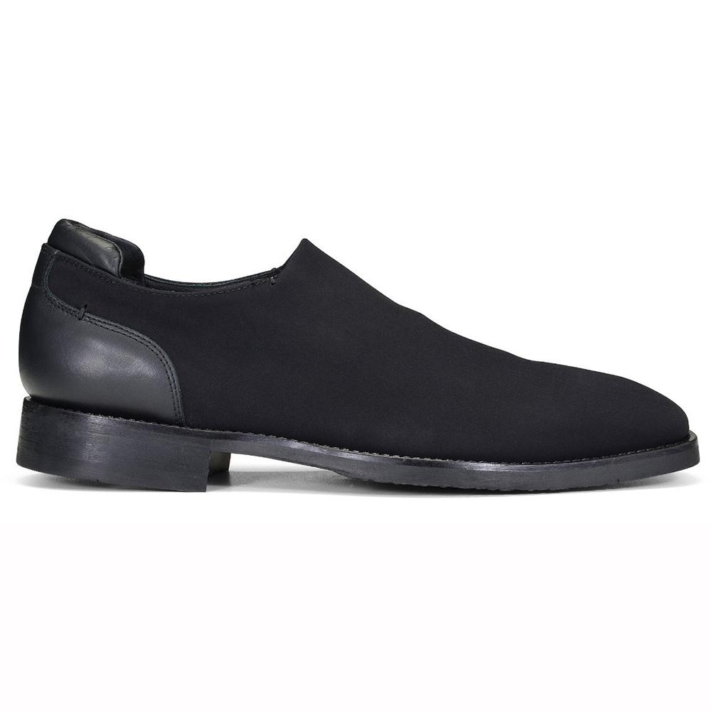 Donald Pliner Rexx Crepe Shoes Black Image
