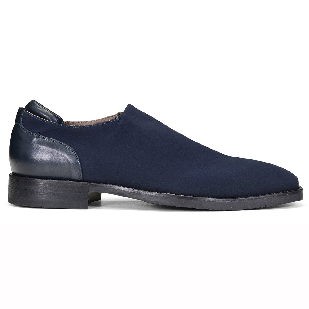 Donald Pliner Rexx Crepe Shoes Navy Image